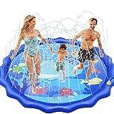 INNOCHEER Splash Pad, Sprinkler Play Matte, 172cm Wasser-Spielmatte Splash Play Matte - Sommer...