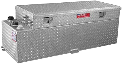 Brite Tread Plate/60 GallonsSee Dimensions Below Gas Or Diesel Fuel Transfer Tank Toolbox Combo - 50, 60 and 90 Gallons RDS-72548