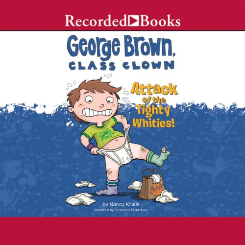 George Brown, Class Clown audiobook cover art