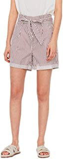 Vmeva HR Paperbag Cot PS Shorts Noos Ga Pantalones Cortos para Mujer
