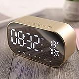 GYCZC Sveglia Digitale, Orologio Digitale con Funzione Snooze, Comoda impostazione in Un Minuto, Molto Adatto per la Camera da Letto, Nessuna difficoltà ad alzarsi