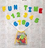 Click N' Play Bath Foam Letters & Numbers with Mesh Bath Toys...