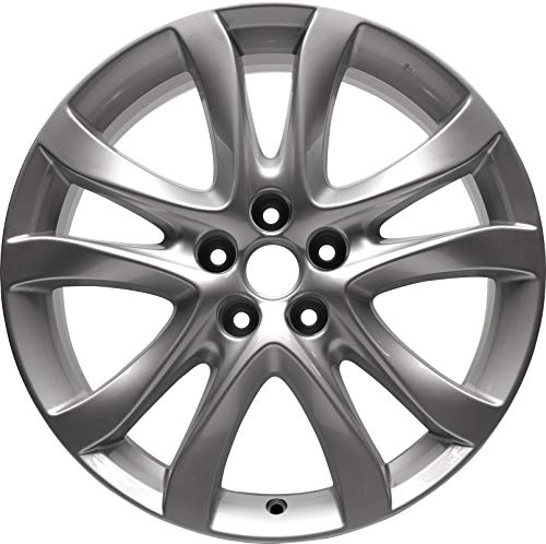 Partsynergy Replacement For New Aluminum Alloy Wheel Rim 19 Inch Fits 2014-2016 Mazda 6 10 Spokes 5 Lug 114.3mm