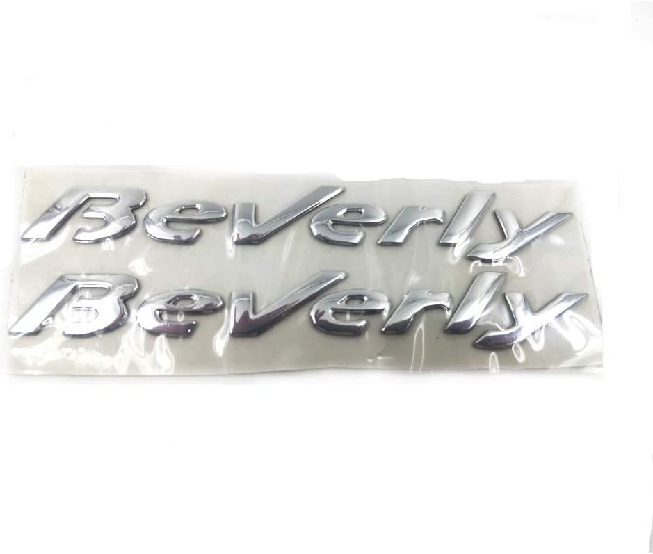 KINWAT 3D Emblem Stickers Decal for Piaggio Beverly Time Special price sale
