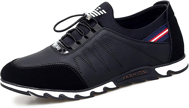 He-yanjing Men's Casual shoes, Autumn and Winter New Low-top casual shoes Men's shoes Casual Personality shoes Korean Fashion Casual shoes,A,42