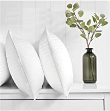 Regal In House - 2- Piece Comfortable Strip Hotel Pillow Microfiber White - 90x50
