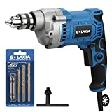 Best Corded Drills - G LAXIA Professional 6A 3/8-Inch Corded Drill, Variable Review