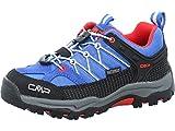 CMP Rigel Low Trekking Shoe WP, Scarpe da Passeggio, Cobalto Stone Fire, 29 EU
