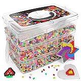 ARTEZA Cuentas y Abalorios hama Beads | 30.000 Cuentas para Planchar | 5 mm | 45 Colores |...