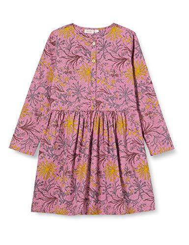 Noa Noa miniature Girls Mini Autumn Cotton POPLIN Dress, Print ROSA, 4Y