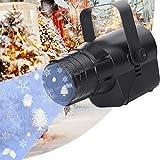 UKing 40W Proyector Navidad Exterior, 5-in-1 RGBYW LED with Árbol de Navidad, copo de nieve y bola 3 Patterns Luces Christmas Regalo decorativo para niños