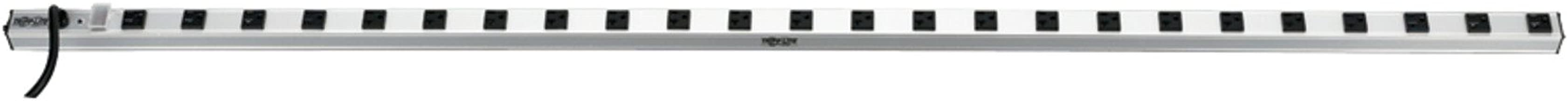 Tripp Lite 24 Outlet Bench & Cabinet Power Strip, 72 in. Length, 15ft Cord with 5-15P Plug, (PS7224)