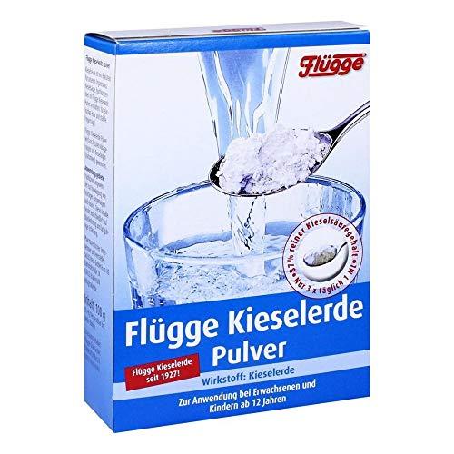Flügge Kieselerde Pulver, 100 g Pulver