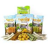 Vegan Dog Treats Bundle, 4 Bags of Assorted Treats (approx. 500g, 40 Treats) - Mixed
