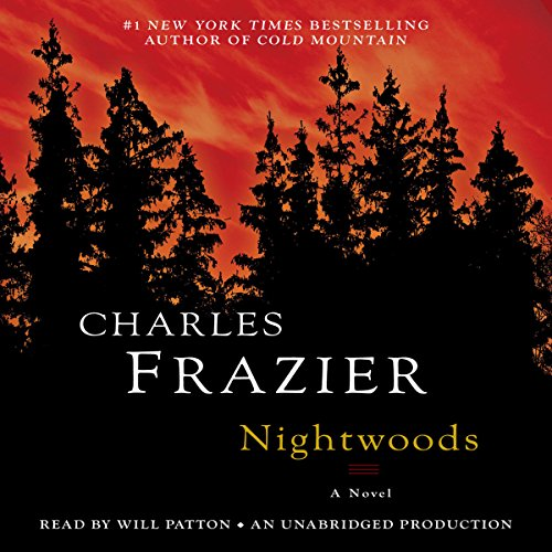Nightwoods audiobook cover art