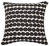 Marimekko - RÄSYMATTO - Kissenbezug - Kissenhülle - weiß/schwarz - 50X50 cm