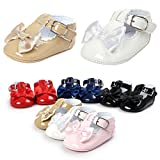 Baby Girl Shoes Infant Soft Sole Bowknot Princess Wedding Dress Mary Jane Flats Sneakers Casual Light Toddler Shoes