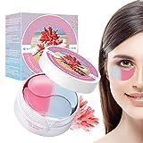 Eye Mask, Máscara para los Ojos, Ojos Parches, Mascarilla Calmante Coral para Ojos,Alivia el...