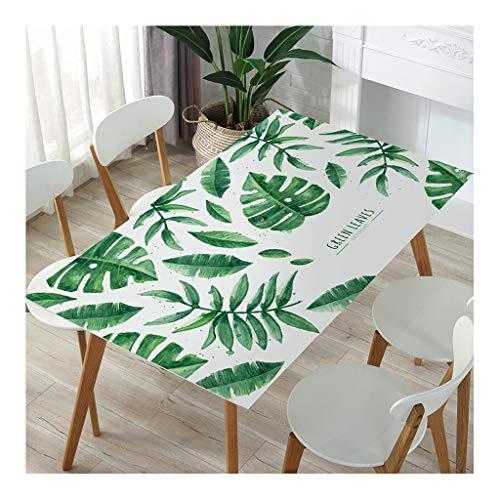 Tafelkleed van PVC, waterafstotend, zacht, hittebestendig, doorzichtig, oliebestendig, Scandinavisch kunststof, cartoon-design, tafelkleed/mat