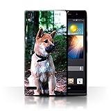 Hülle Für Huawei Ascend P6 Hund/Eckzahn Rassen