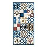 Alfombra Vinílica, 50 x 100 cm, Mosaico, Multicolor, ALV-089