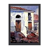 INOV ホーマー-家 サンティアゴ キュー アートパネル 壁掛け アートフレーム 絵画 ウォールインテリア タペストリー おしゃれ モダン リビング ギフト