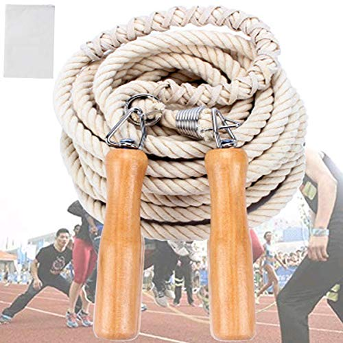 Wooden Handle Skipping Rope Long Ro…