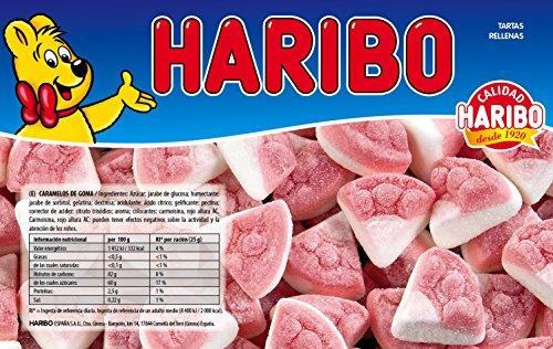 Haribo Tartas Rellenas Caramelos de Goma - 1180 gr