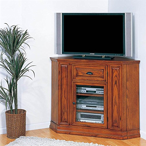 Leick Riley Holliday Boulder Creek Corner TV Stand, 36-Inch Tall