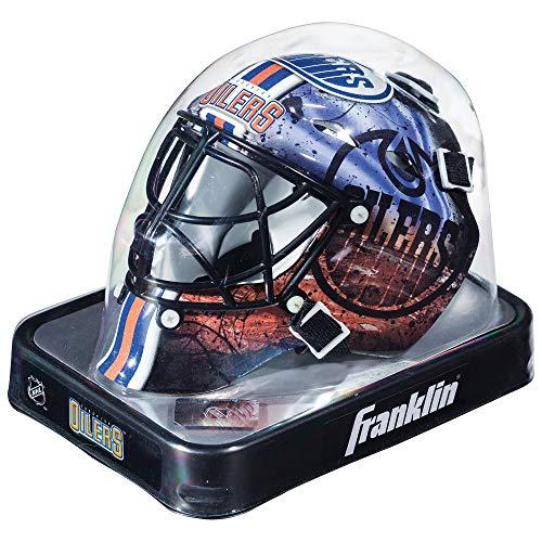 Franklin Sports Eishockey-Sammelartikel Torwart-Helm Mini, Design: Logo Einer NHL-Mannschaft, Unisex, 7784F17, Navy, Einheitsgröße
