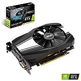 ASUS PH-RTX2060-6G - Tarjeta gráfica (NVIDIA GeForce RTX 2060, 6 GB, GDDR6, 192 bits, 7680 x 4320 Pixeles, PCI Express 3.0)