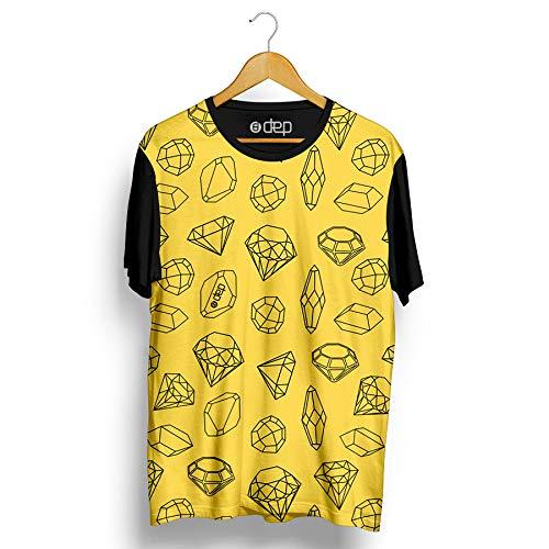Camiseta Dep Pedras Preciosas Amarela (PP)