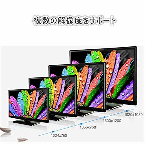 『RCA to HDMI変換コンバーター コンポジットをHDMIに変換アダプタ AV to HDMI 変換器 音声転送 720/1080P切り替え USB給電 ブラック』の7枚目の画像