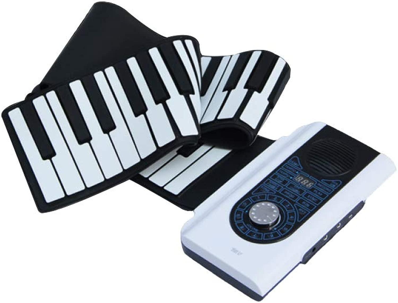 XLLLL Pianoforte A uomoo 88 Tasti Multidivertimentozione Pieghevole Portatile Organo Elettronico Addensamento Sentire Strumenti A Tastiera
