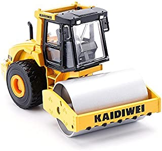 KDW 1/50 Scale Alloy Diecast Road Rollers Construction Vehicle Model Toys [並行輸入品]