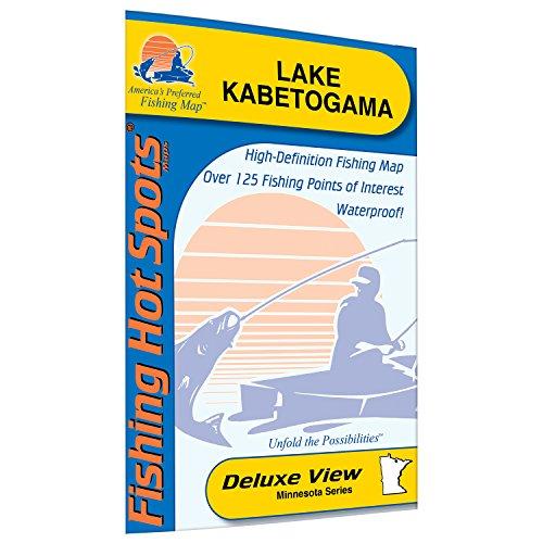 Kabetogama Fishing Map, Lake