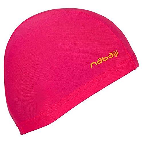 nabaiji mesh Swim Cap, Pink, Adulto