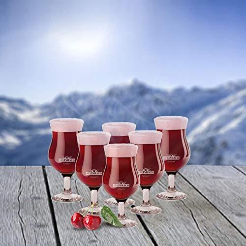 STEINBACH GLAS für GlühBier   6 x 0,25L
