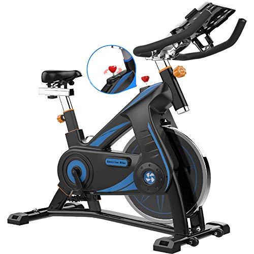 YIKUI Bicicleta elíptica, Ajuste de Velocidad Variable Bicicleta estática silenciosa para el hogar, Utilizada para Entrenamiento aeróbico en el hogar, Equipada con Volante dinámico de 10 kg