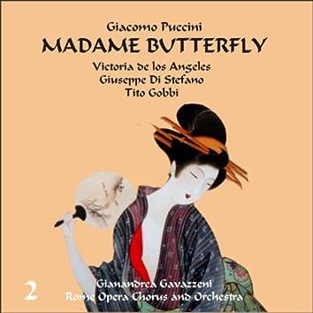 Giacomo Puccini: Madame Butterfly (Gavazzeni, De Los Angeles, Di Stefano), Vol. 2
