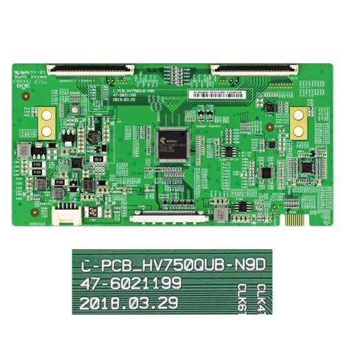 Desconocido Placa T-con C-PCB_HV750QUB-N9D, 47-6021199 LG 75UK6500PLA