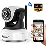 Sricam Ultima Versione SP017 Telecamera WiFi Interno di Sorveglianza 1080P Wireless IP Camera,...