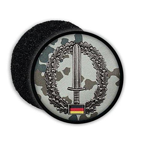 Copytec Patch BW Kommando Spezialkräfte ISAF KSK Barett Abzeichen Einheit Bundeswehr Patch Tarnung Schwert #20865