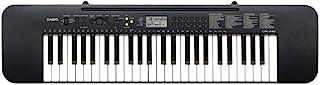 كيبورد موسيقي بحجم كامل من 49 مفتاح مع محول ايه سي من كاسيو، طراز CTK-240AD