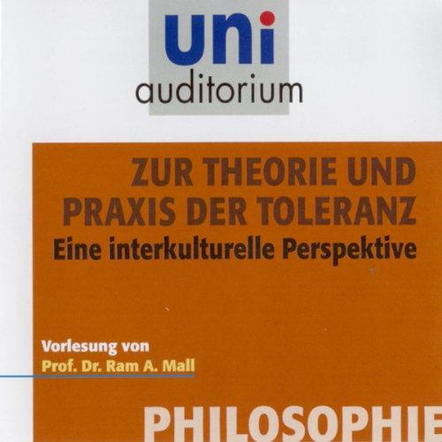 Zur Theorie und Praxis der Toleranz Titelbild