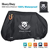 ClawsCover XXL Large 83 Inch Bikes Covers Waterproof Outdoor Heavy Duty Durable All Weather Bicycles Rain Cover with Lock Hole Storage Bag for Mountain Road Electric Beach Hybrid Exercise Bike