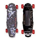 Benchwheel D1 Monopatín Eléctrico Skateboard Eléctrico,Control Remoto, Luz de color LED,Velocidad Máx 30 km/h,para Adulto Adolescente