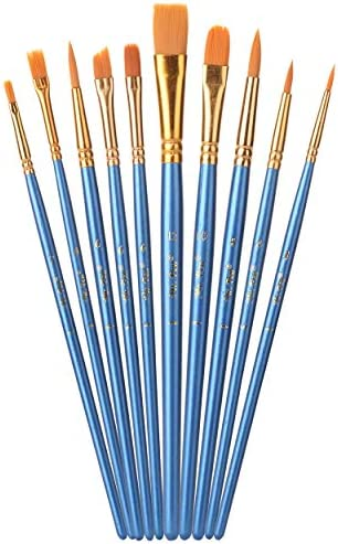 Mr Pen Paint Brushes 10pc Paint Brushes for Acrylic Painting Art Brushes Drawing and Art Supplies product image