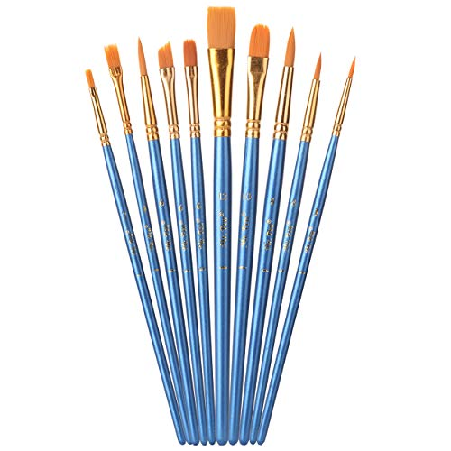 10pc, Paint Brushes