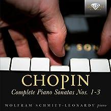 Frederic Chopin Complete Piano Sonatas Nos. 13